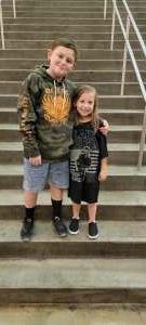 Shaw family attended Blake Shelton: Friends & Heroes on Aug 18th 2021 via VetTix