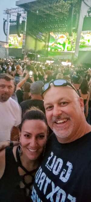 Chris attended Guns N' Roses 2021 Tour on Aug 16th 2021 via VetTix