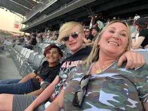 Jamie attended Guns N' Roses 2021 Tour on Aug 16th 2021 via VetTix
