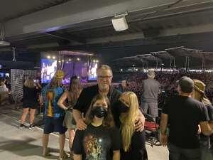 Mike L. attended Guns N' Roses 2021 Tour on Aug 16th 2021 via VetTix