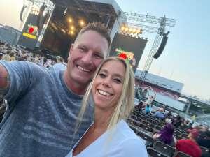 Jason attended Guns N' Roses 2021 Tour on Aug 16th 2021 via VetTix