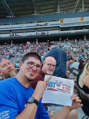 Tyler attended Guns N' Roses 2021 Tour on Aug 16th 2021 via VetTix