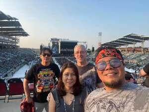 Shawn attended Guns N' Roses 2021 Tour on Aug 16th 2021 via VetTix
