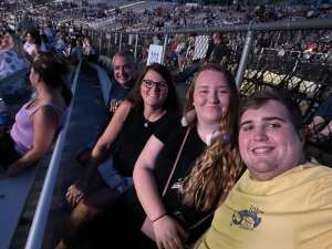 CKR attended Lady a What a Song Can Do Tour 2021 on Aug 19th 2021 via VetTix
