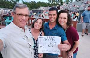 BK attended Lady a What a Song Can Do Tour 2021 on Aug 19th 2021 via VetTix