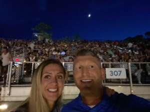 Justin  attended Lady a What a Song Can Do Tour 2021 on Aug 19th 2021 via VetTix