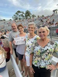 Maj Mint attended Lady a What a Song Can Do Tour 2021 on Aug 19th 2021 via VetTix