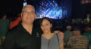 Carlos attended Lady a What a Song Can Do Tour 2021 on Aug 19th 2021 via VetTix