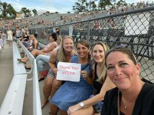 Allen attended Lady a What a Song Can Do Tour 2021 on Aug 19th 2021 via VetTix