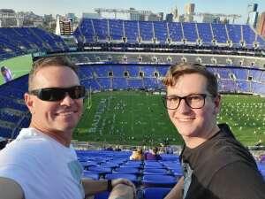 Jeff S attended Baltimore Ravens vs. New Orleans Saints - NFL on Aug 14th 2021 via VetTix