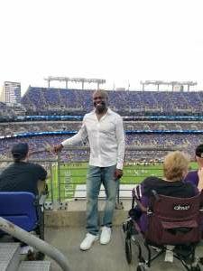 Floyd  attended Baltimore Ravens vs. New Orleans Saints - NFL on Aug 14th 2021 via VetTix