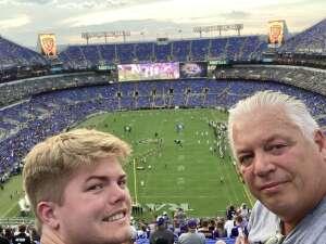 Mark attended Baltimore Ravens vs. New Orleans Saints - NFL on Aug 14th 2021 via VetTix