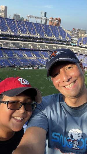 JPC attended Baltimore Ravens vs. New Orleans Saints - NFL on Aug 14th 2021 via VetTix