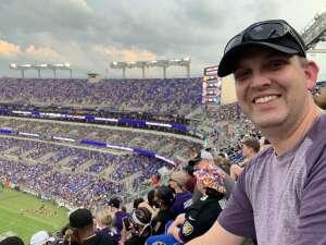 Ryan attended Baltimore Ravens vs. New Orleans Saints - NFL on Aug 14th 2021 via VetTix