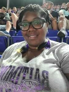 Tyree attended Baltimore Ravens vs. New Orleans Saints - NFL on Aug 14th 2021 via VetTix