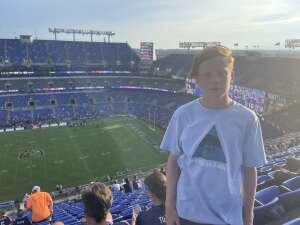 Sam attended Baltimore Ravens vs. New Orleans Saints - NFL on Aug 14th 2021 via VetTix