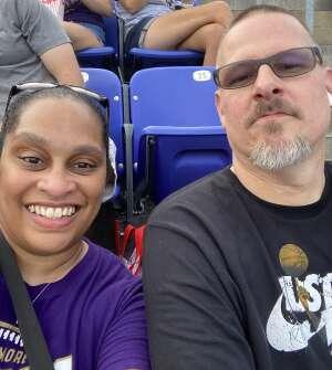 Carmen W attended Baltimore Ravens vs. New Orleans Saints - NFL on Aug 14th 2021 via VetTix