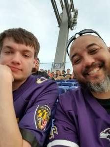 Bill attended Baltimore Ravens vs. New Orleans Saints - NFL on Aug 14th 2021 via VetTix