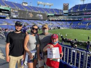 Click To Read More Feedback from Baltimore Ravens vs. New Orleans Saints - NFL