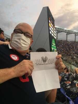 Chris Herndon attended Baltimore Ravens vs. New Orleans Saints - NFL on Aug 14th 2021 via VetTix