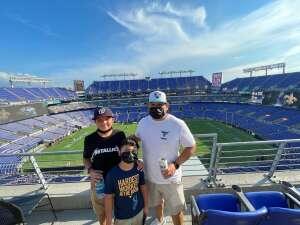 Thank You attended Baltimore Ravens vs. New Orleans Saints - NFL on Aug 14th 2021 via VetTix