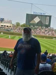 Art cardenas attended Chicago Cubs vs. San Francisco Giants - MLB on Sep 12th 2021 via VetTix