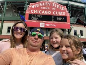 Jay attended Chicago Cubs vs. San Francisco Giants - MLB on Sep 12th 2021 via VetTix