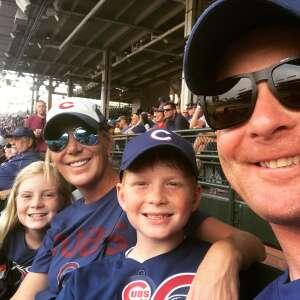 Erin attended Chicago Cubs vs. San Francisco Giants - MLB on Sep 12th 2021 via VetTix
