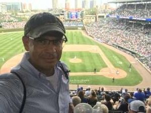 Guillermo M.O. attended Chicago Cubs vs. San Francisco Giants - MLB on Sep 12th 2021 via VetTix