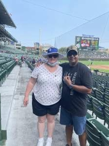 Gary Washington attended Chicago Cubs vs. San Francisco Giants - MLB on Sep 12th 2021 via VetTix