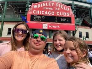 Favre attended Chicago Cubs vs. San Francisco Giants - MLB on Sep 12th 2021 via VetTix