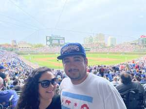 HECTOR cerda attended Chicago Cubs vs. San Francisco Giants - MLB on Sep 12th 2021 via VetTix