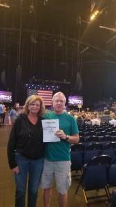 Mike G attended Volunteer Jam: a Musical Salute to Charlie Daniels Special Guest Alabama, Chris Young, Gretchen Wilson, Travis Tritt and Many More. on Aug 18th 2021 via VetTix