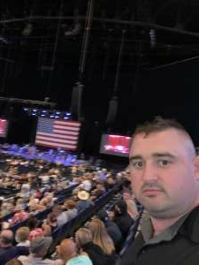 Ade attended Volunteer Jam: a Musical Salute to Charlie Daniels Special Guest Alabama, Chris Young, Gretchen Wilson, Travis Tritt and Many More. on Aug 18th 2021 via VetTix