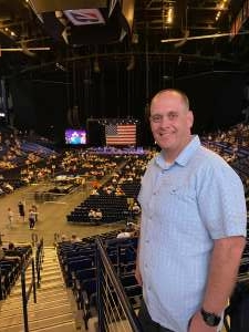 Jonathan attended Volunteer Jam: a Musical Salute to Charlie Daniels Special Guest Alabama, Chris Young, Gretchen Wilson, Travis Tritt and Many More. on Aug 18th 2021 via VetTix