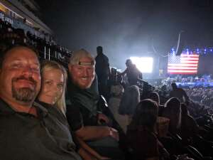 KD attended Volunteer Jam: a Musical Salute to Charlie Daniels Special Guest Alabama, Chris Young, Gretchen Wilson, Travis Tritt and Many More. on Aug 18th 2021 via VetTix