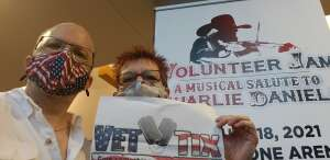 Gunny CB attended Volunteer Jam: a Musical Salute to Charlie Daniels Special Guest Alabama, Chris Young, Gretchen Wilson, Travis Tritt and Many More. on Aug 18th 2021 via VetTix