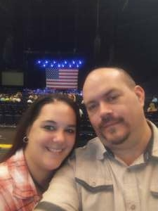 Mike attended Volunteer Jam: a Musical Salute to Charlie Daniels Special Guest Alabama, Chris Young, Gretchen Wilson, Travis Tritt and Many More. on Aug 18th 2021 via VetTix