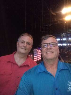 John attended Volunteer Jam: a Musical Salute to Charlie Daniels Special Guest Alabama, Chris Young, Gretchen Wilson, Travis Tritt and Many More. on Aug 18th 2021 via VetTix