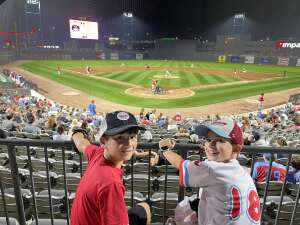 Brian attended Chicago Dogs vs. Fargo-Moorhead RedHawks - Happy Hour Fridays! MLB Partner League on Aug 27th 2021 via VetTix