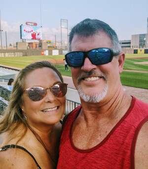 Christine attended Chicago Dogs vs. Fargo-Moorhead RedHawks - Happy Hour Fridays! MLB Partner League on Aug 27th 2021 via VetTix