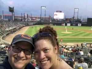 Steven F attended Chicago Dogs vs. Fargo-Moorhead RedHawks - Happy Hour Fridays! MLB Partner League on Aug 27th 2021 via VetTix