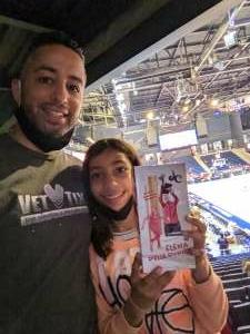 Chris C. attended Washington Mystics vs. Dallas Wings - WNBA on Aug 26th 2021 via VetTix