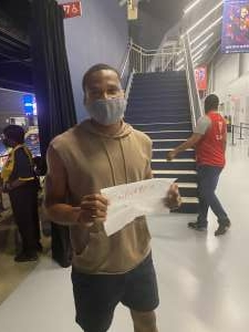 Rodney  attended Washington Mystics vs. Dallas Wings - WNBA on Aug 26th 2021 via VetTix