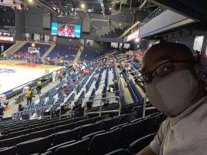 Steven Briggs attended Washington Mystics vs. Dallas Wings - WNBA on Aug 26th 2021 via VetTix