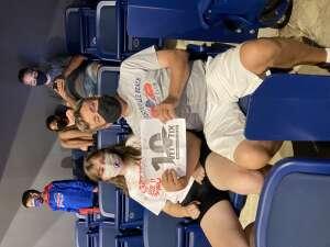 Scott attended Washington Mystics vs. Dallas Wings - WNBA on Aug 26th 2021 via VetTix
