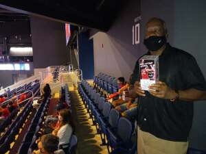 Rhyce Edwards attended Washington Mystics vs. Dallas Wings - WNBA on Aug 26th 2021 via VetTix