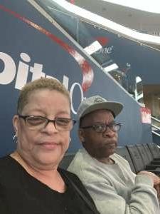 Virginia Shoulars attended Washington Mystics vs. Dallas Wings - WNBA on Aug 26th 2021 via VetTix