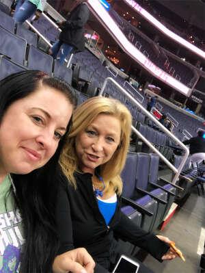 Andie E attended Washington Mystics vs. Dallas Wings - WNBA on Aug 28th 2021 via VetTix