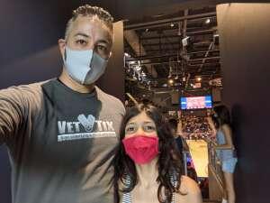 Chris C. attended Washington Mystics vs. Dallas Wings - WNBA on Aug 28th 2021 via VetTix